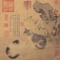 Kucing Dalam Lukisan Tiongkok Kuno