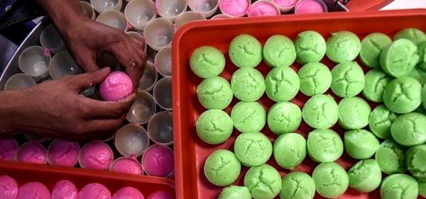 Warna-warni Kue Apam