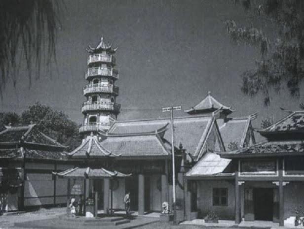 Kelenteng Sam Kuan Tai Tie di masa Batavia dulu