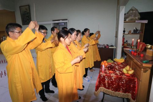 Upacara Mengharmoniskan Suami Istri - He He Yi Shi (和合仪式)